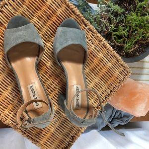 Steve Madden heels. Light blue